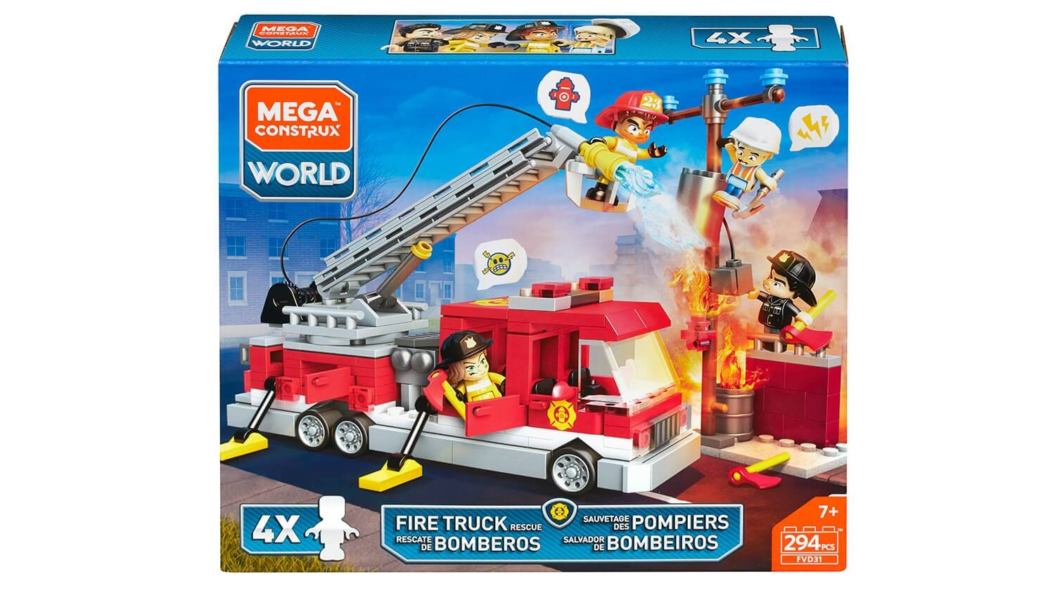 Mega Brands - Shop - Fire Truck Rescue