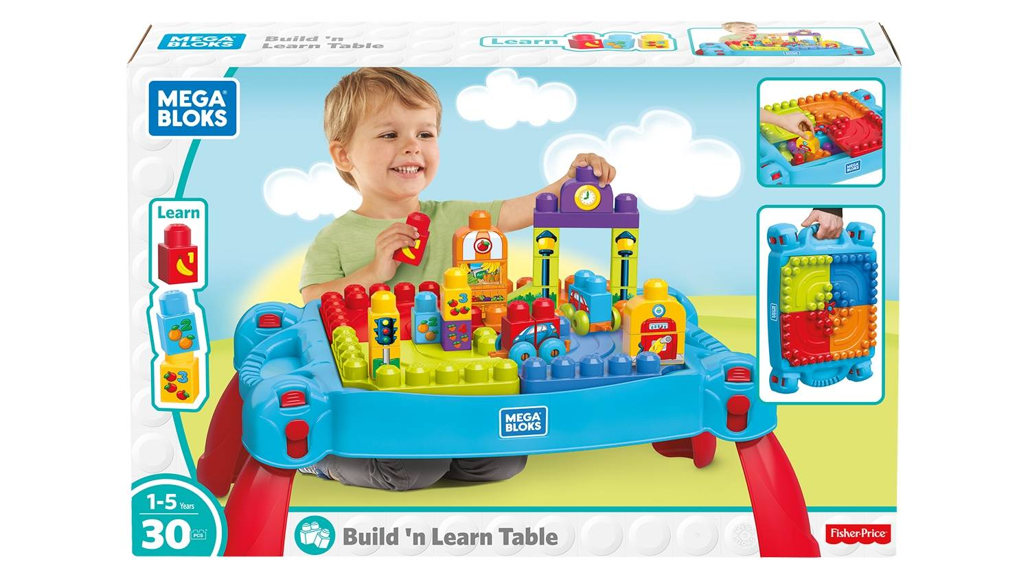 Build 'n Learn Table (Classic)