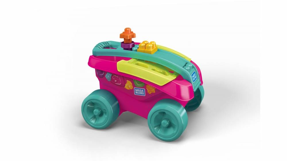 Shape Sorting Wagon (Pink)