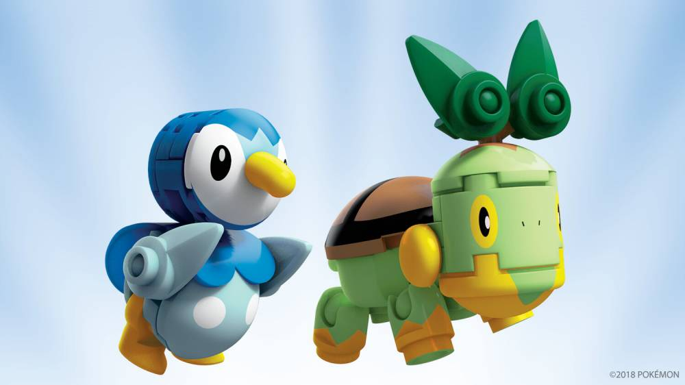 Image of: Piplup vs. Turtwig
