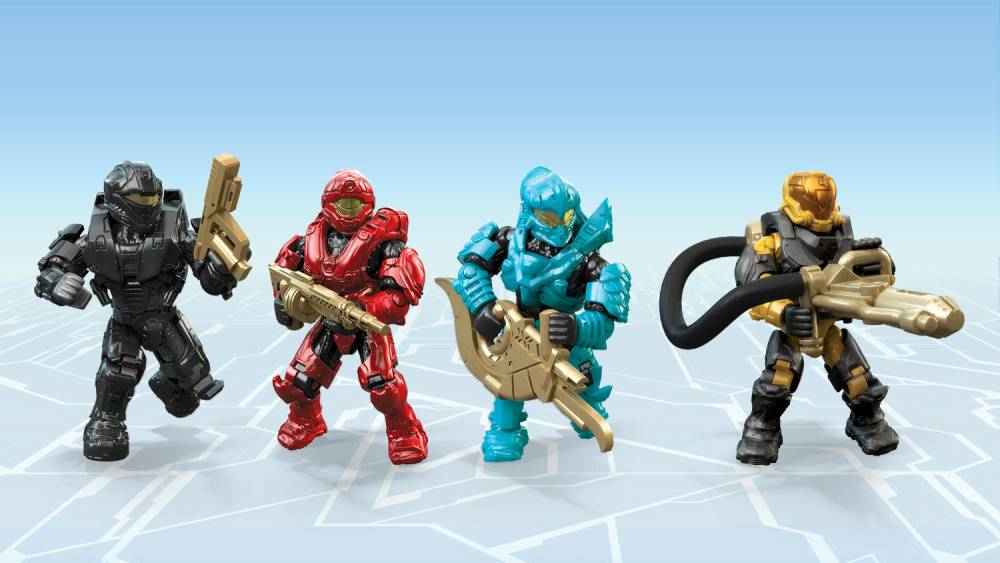 Image of: Micro Action Figures 10th Anniversary Series