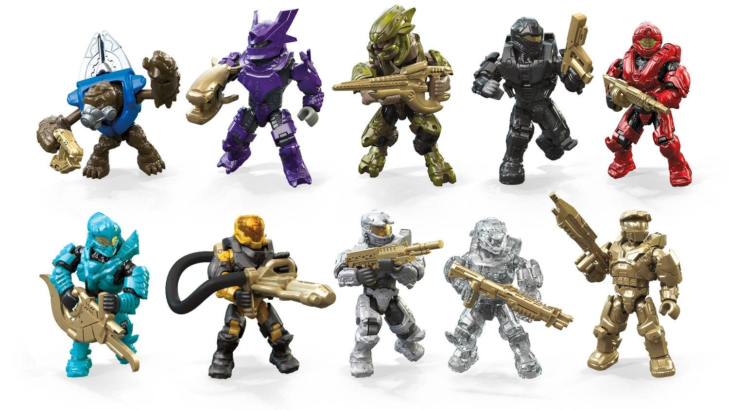 Micro Action Figures 10th Anniversary Series