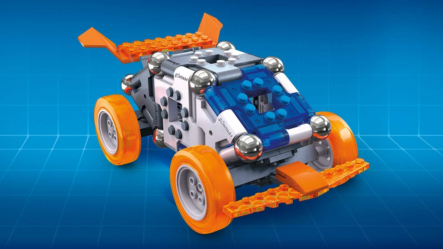 Image of: 4-in-1 Mag-Racers
