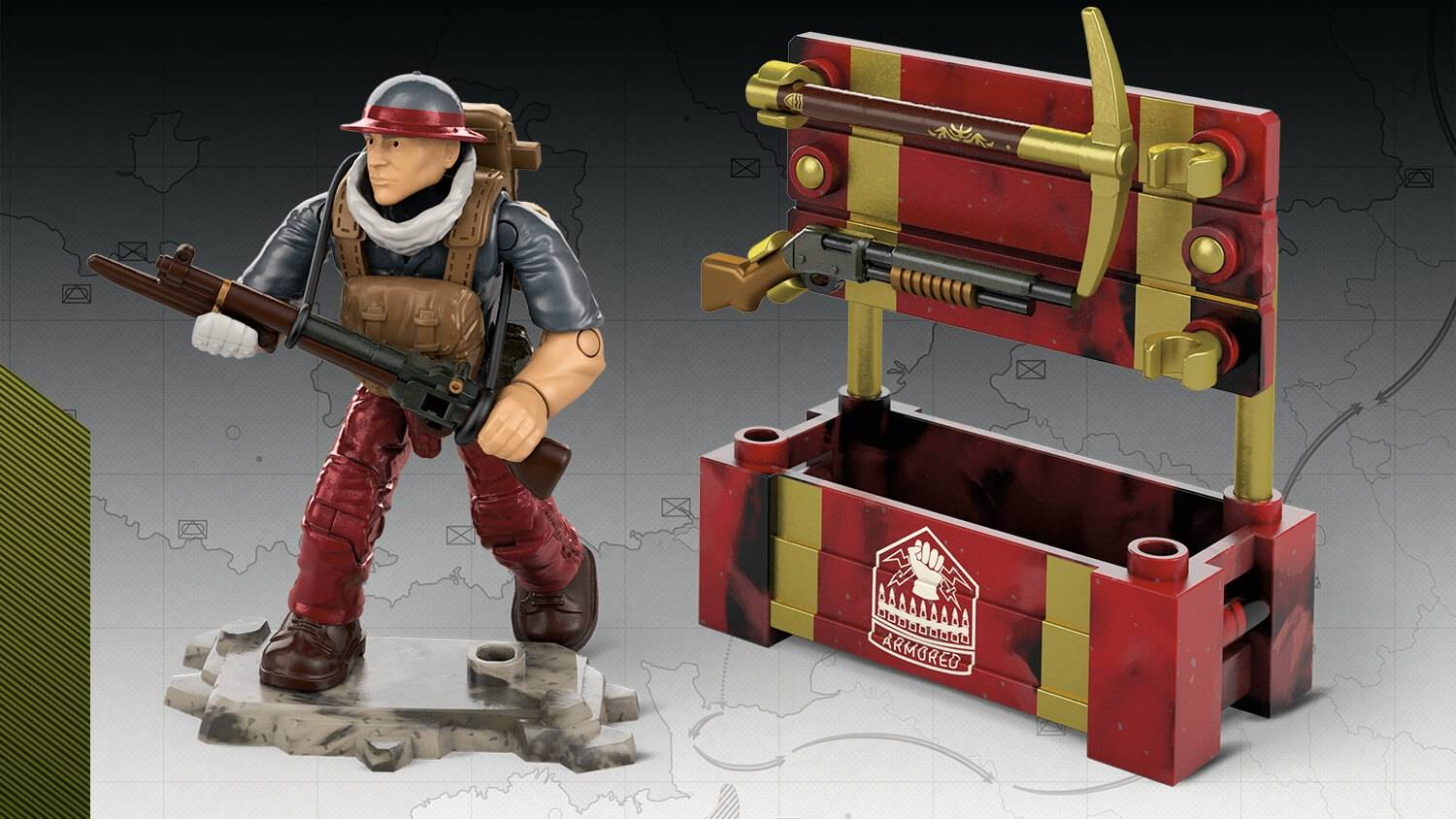 Image of: Armored Division Weapon Crate