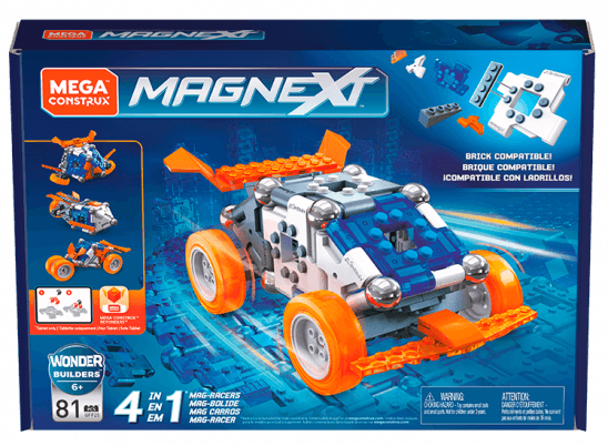 4-in-1 Mag-Racers