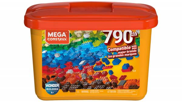 Mega Construx™ Wonder Builders™ 790-pc Building Tub