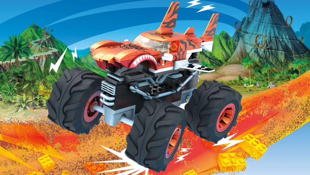 Image of: Tiger Shark Monster Truck