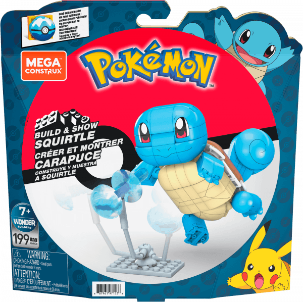 Build & Show Squirtle