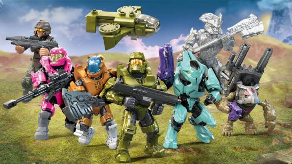 Image of: Halo Micro Action Figure Asst. Series 14