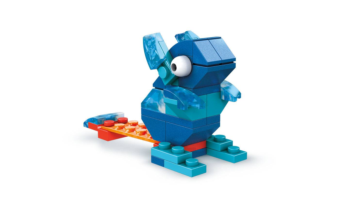 Image of: Blue Brick Building Set