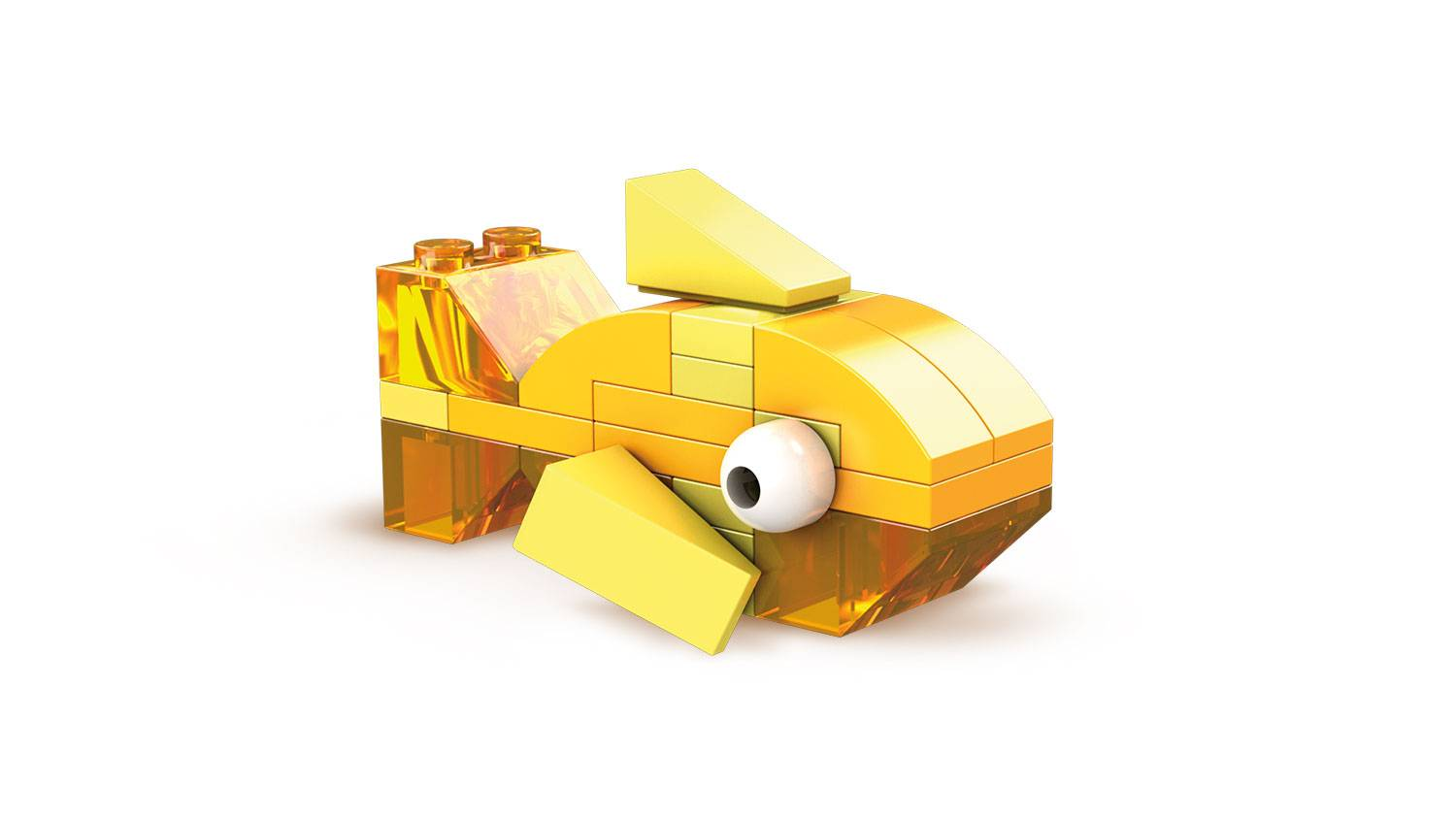 Yellow Brick Building Set