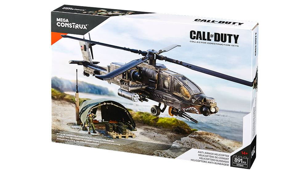 Call Of Duty Anti Armor Helicopter Mega Bloks
