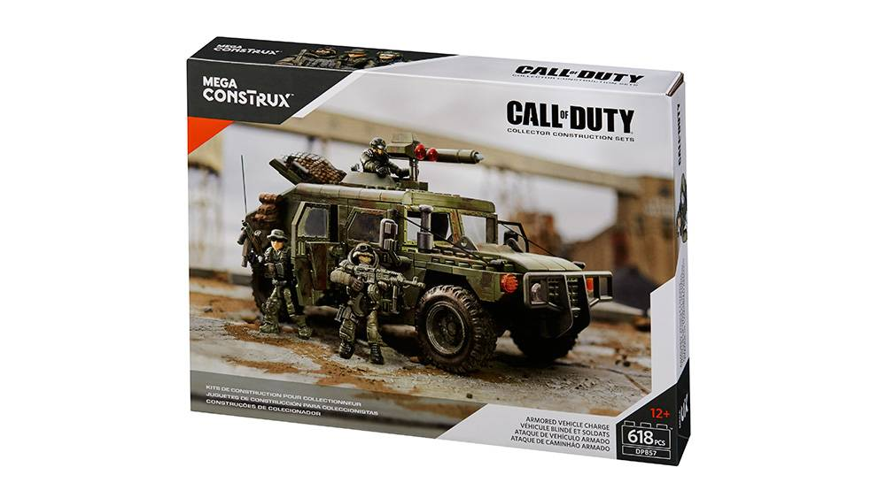 Call Of Duty Armored Vehicle Charge Mega Bloks