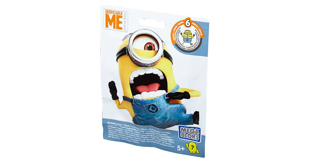 Despicable Me Buildable Minions Blind Packs Series Vi