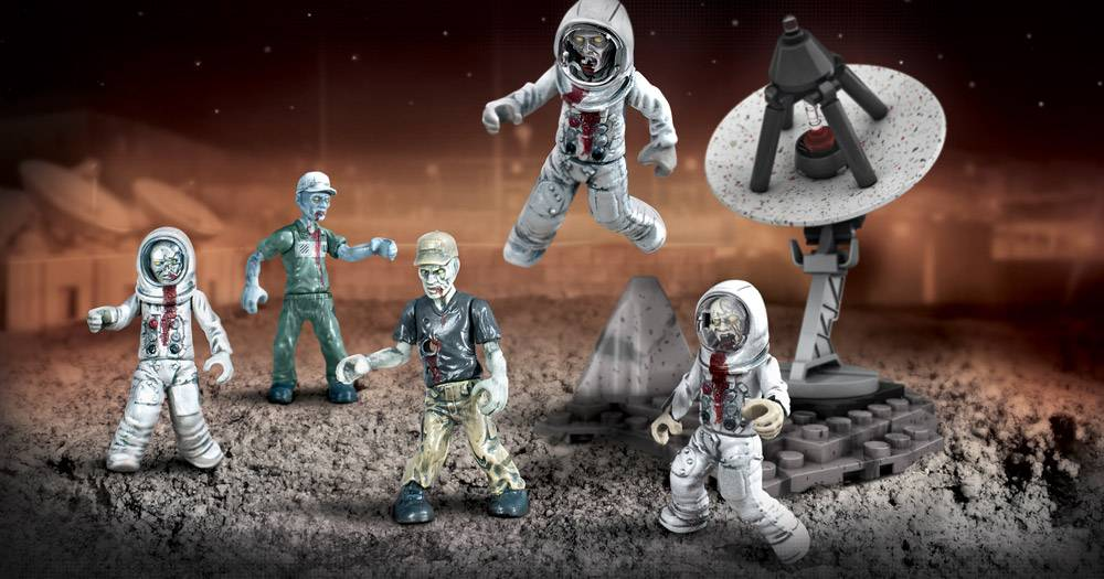 Image of: Zombies Moon Mob