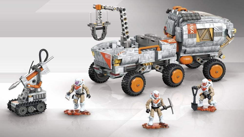 Probuilder Space Rover Expedition Mega Construx