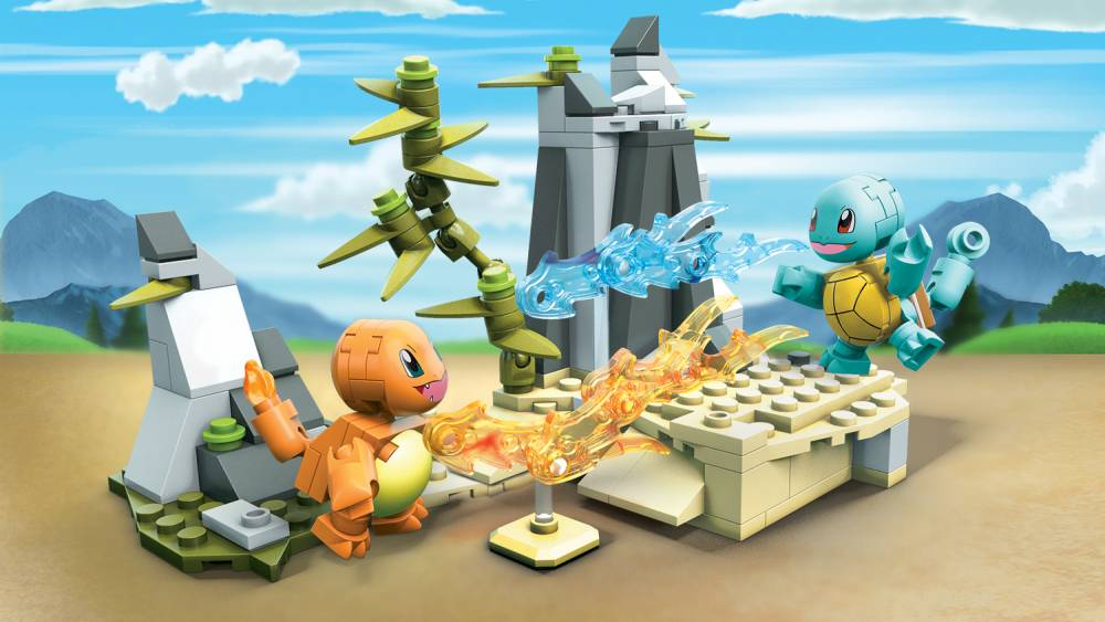 Image of: Squirtle VS Charmander