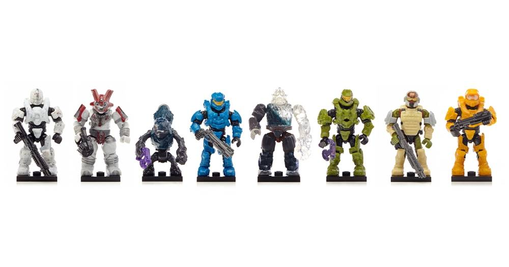 Image of: Micro Action Figures Alpha Series