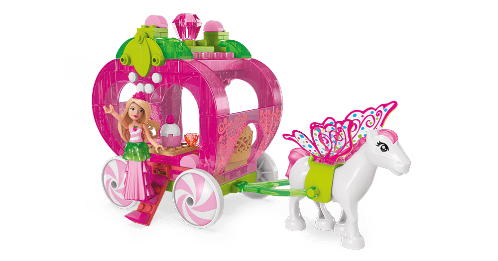 Image of: Strawberry Carriage