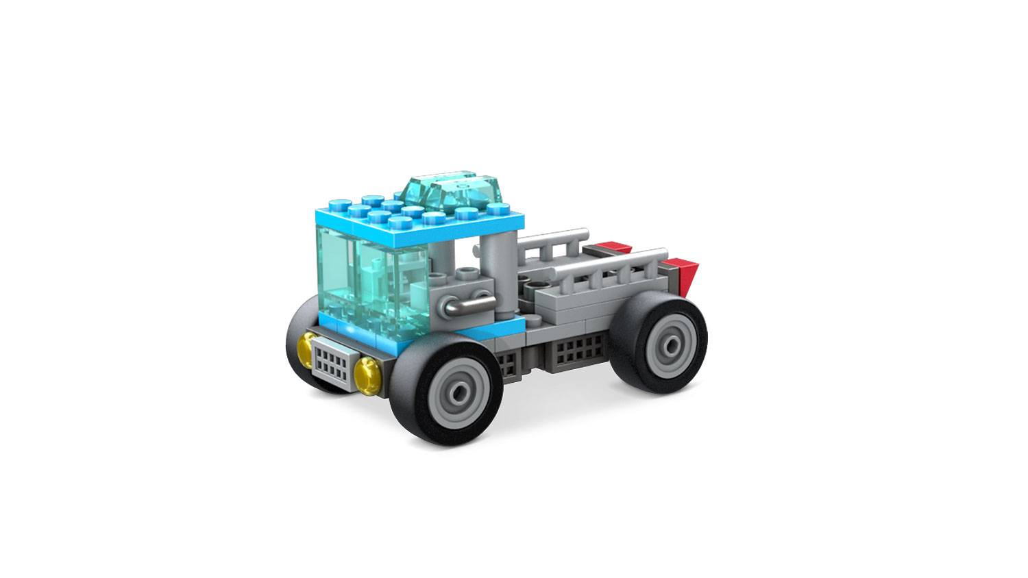 Image of: Wheels Building Set