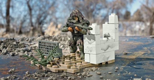 Image of: Ghillie Suit Sniper
