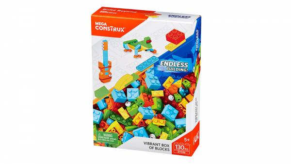 Vibrant Box of Blocks™ [130 pcs]